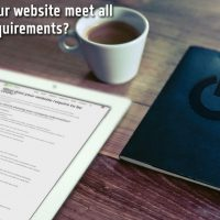 Does your website meet all legal requirements?