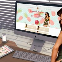 Bettylicious eCommerce Website Design Mock Up