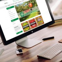 Cider Supermarket Website Preview