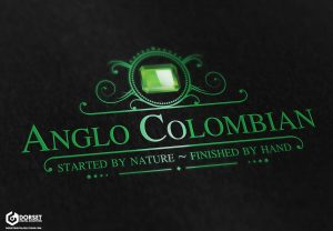 Anglo Colombian Logo [Mock Up Dark]
