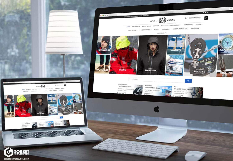 Apollo Marine Website Preview