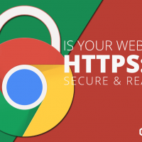 Google Chrome marks all http:// website as not secure image